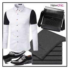Newchic 10 by merisa-imsirovic on Polyvore featuring polyvore men's fashion menswear clothing