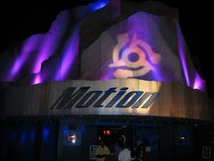 Motion — A dance club which featured Top 40 music videos. It closed September 27, 2008. The club opened in 2001, replacing: Fireworks Factory