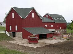 Slycord Barn, Pella, IA - I passed this every day on the way to town.  Love barns!