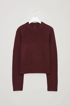 f9289b48399b Monse Green Navy Oversized Cropped Sweater ( 850) ❤ liked on ...