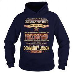 COMMUNITY-LIAISON - #teespring #linen shirts. PURCHASE NOW => https://www.sunfrog.com/LifeStyle/COMMUNITY-LIAISON-93497355-Navy-Blue-Hoodie.html?60505