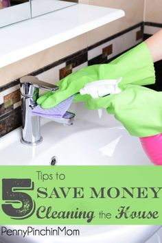 We have to clean our house.  It is just part of life.  However, there is a way you can do it and STILL save money!!  And I'm not talking hiring a housekeeper.  Get my tips on how to save money - while still keeping your house clean and germ free!