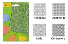 Un moyen rapide pour donner des effets de relief et structurer la terre ou pâte à modeler : feuilles de structures Makin's Clay. A partir de 3,98€ >>> http://www.perlesandco.com/Feuilles_de_structure_Makin_s_Clay_Set_H-p-74927.html