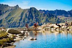 Trekking in Gran Paradiso national park, Valle d'Aosta, Italy