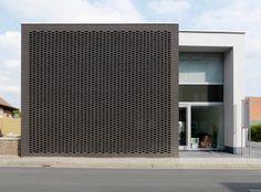 Terca Rockface Zwart  Architectenbureau Van den Bossche,  Dimitri Van den Bossche, Bornem