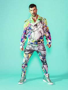 AVAF X TOF PERFECTO JACKET Tom of Finland clothing collaboration