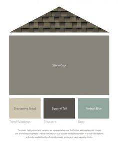 The 25 Best Ideas About Exterior Color Palette On
