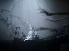 The Night of the Hunter, Charles Laughton, 1955. La morte corre sul fiume.