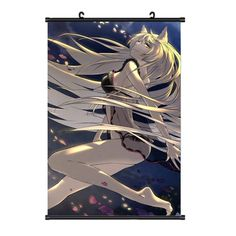 Onecos Anime Nisemonogatari Hanekawa Tsubasa Logo Poster wall Picture Cosplay >>> You can get more details by clicking on the image.