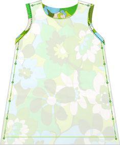 de dromenfabriek: Gratis naaipatroon zomers jurkje