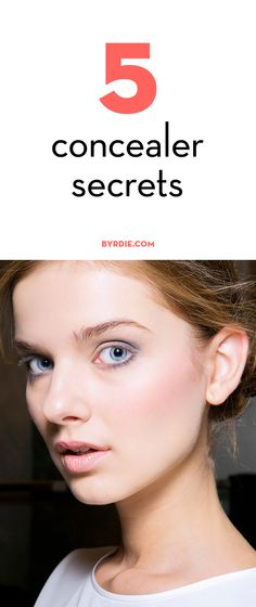 5 things no one tells you about concealer