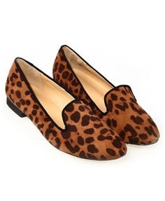 Suede Leopard Print