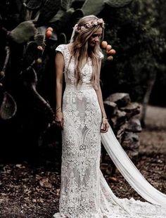 Vintage Lace Weddings, Bohemian Wedding Dresses, Bridal Dresses, Vintage Dresses, Wedding Gowns, Wedding Dress Sheath, Maxi Dresses, Wedding Dress Uk, Bridesmaid Dresses