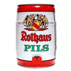 Fut de bière Allemande ROTHAUS PILS