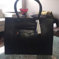 NWT Rebecca Minkoff Medium MAB tote Brand New black Rebecca Minkoff Medium MAB tote! Comes with dust bag! Rebecca Minkoff Bags Totes