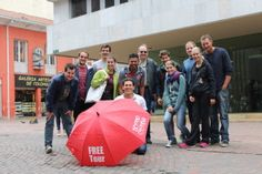 Free walking tour of Bogota