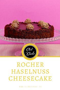 Leckerer Cheesecake mit Haselnüssen und Ferrero Rocher!