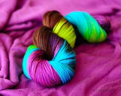 Three Irish Girls - Bryn.  Isn't this beautiful!  I can just see a sweater made with this lovely yarn.