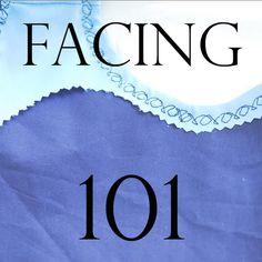 Sewing Facing Tutorial