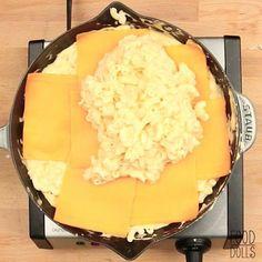 Best Mac N Cheese Recipe, Macaroni Cheese Recipes, Mac And Cheese Homemade, Skillet Mac And Cheese, Diy Food, Cheese Food, Easy Cheese, Food Dishes, Baking Recipes