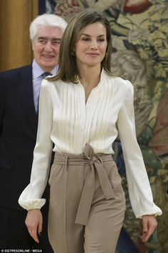 She is notable among European royals for her willingness to experiment with fashion