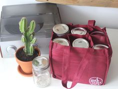 Trash is for Tossers: Zero Waste Shopping: The Essentials [use a TJ's wine tote to carry mason jars]