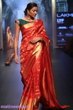 Models Walks For Santosh Parekh At Lakme Fashion Week Winter Festive 2016 - Hot Models Photo Gallery - High Resolution Pictures 5