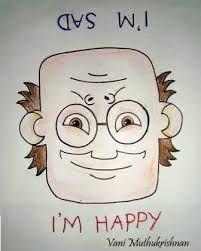 Resultado de imagen para sad and happy face
