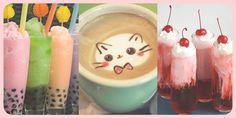 maid cafe drinks!