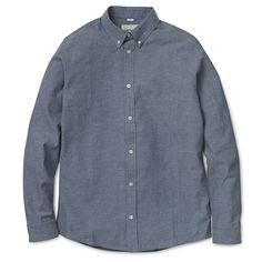 Carhartt WIP Kyoto Shirt - Blue (Stone Washed)