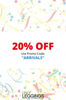 """We're celebrating new arrivals! 🎉 Shop over 200 pieces in our new collection and get 20% off with discount code """"ARRIVALS"""" Black Leggings Outfit, Tribal Leggings, Galaxy Leggings, Printed Leggings, Women's Leggings, Colorful Leggings, Legging Outfits, Holiday Leggings, Words To Describe"""
