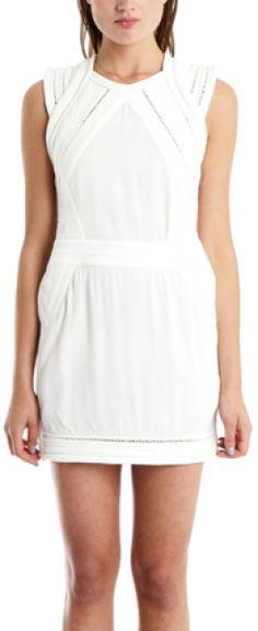 Iro White Del Dress