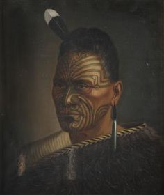 Portrait of Tawhiao - Collections Online - Museum of New Zealand Te Papa Tongarewa Polynesian People, Maori Art, Body Adornment, Native American History, Cook Islands, Body Modifications, New Art, New Zealand, Maori Tattoos