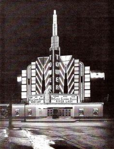 """Tower Theatre, Houston, TX  Very 1st night I moved to Houston, I saw """"American Graffiti"""" at this theatre."""