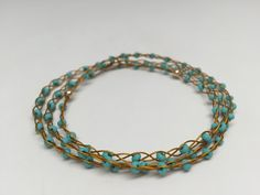 SoftFlexGirl: DIY Jewelry Project - Summer In The Sun Bangle Bracelets