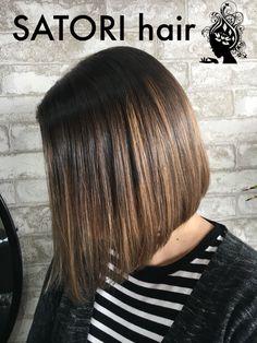 Bob hair cut. Lovely soft tones. Eco salon.