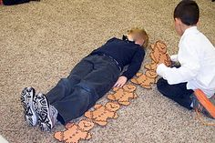 """""""How Many Cookies Tall Are You?"""" and other Gingerbread Activities - Repinned by Lessonpix"""