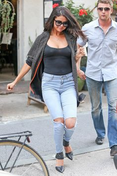 Selena in New York on July 9, 2014.