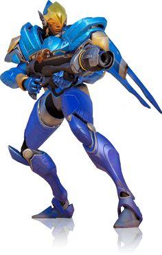 Pharah patrols the skies in her Raptora combat suit. #overwatch #gaming