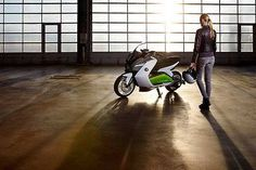 2018-2019 BMW C evolution — Electric scooter from 2018-2019 BMW