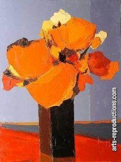 Art moderne tableau YVNewab013 tableau Tableaux Nature & écologie Arts Reproductions, peinture à l'huile sur toile de lin