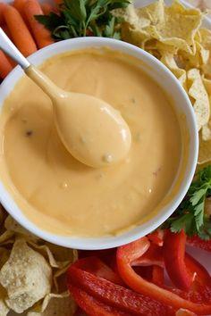 Homemade Nacho Cheese Sauce