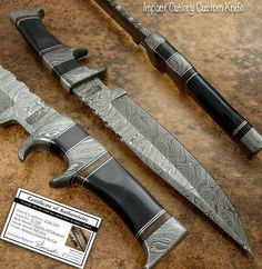 Handmade knives for sale ! Handmade Knives, Knives And Swords, Knifes, Box, Knives, Snare Drum, Knife Making