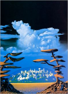 Prelude to Foundation (also known as Clear Air Turbulence?) by Tim White.