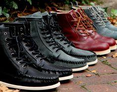 Ronnie Fieg x Sebago Seneca & Bleecker Boots – Fall/Winter 2012