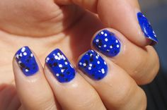 Nail Addict: Electric blue