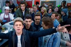One direction released the video for midnight memories today!! Watch it on vevo, remember- refresh not replay!!(;