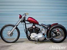 Slippery When Wet | 1987 Harley Davidson Sportster | Street Chopper