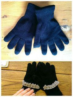 Gloves refashion,diy