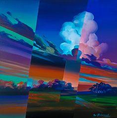 Evening light by Eugene Melamed